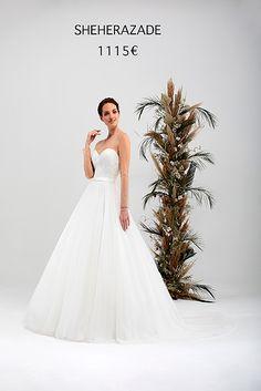 SHEHERAZADE One Shoulder Wedding Dress, Marie, Wedding Dresses, Collection, Fashion, Atelier, Sleeved Wedding Dresses, Woman, Bride Dresses
