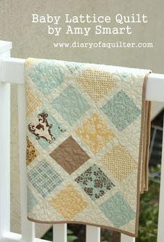 Cute baby quilt...