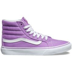 6899dd8e72ee Vans SK8-Hi Slim ( 60) ❤ liked on Polyvore featuring shoes