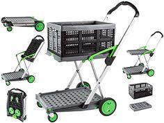 Folding Shopping Cart, Folding Cart, Personal Shopping Cart, Trolley Dolly, Utility Cart, Crate Storage, Condo Living, Folded Up, Amazing Gardens