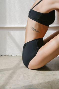 The Dreslyn x Land of Women swimwear collaboration // suits, black bathing… Life Goes On Tattoo, Geniale Tattoos, Toni Garrn, Moda Chic, Skinny Girls, The Bikini, Gold Bikini, Black Bikini, Body Inspiration