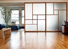 sliding door room di