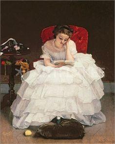 Reading: Alfred Stevens