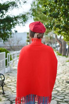 Santa Style In / Red Beret / by Tamara Bellis Fashion and Lifestyle Blog
