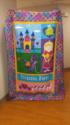 Cindy made this quilt for her granddaughter using Amy Bradley Designs Princess quilt pattern