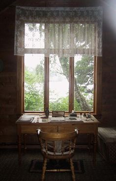 Edvard Grieg's workroom in a separate little house by the lake, Bergen