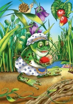 View album on Yandex. Funny Frogs, Cute Frogs, Frog Drawing, Frog Pictures, Frog Art, Frog And Toad, Victorian Art, Cute Little Things, Tree Frogs