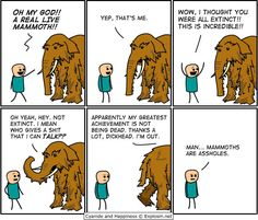 Mammoths are assholes!