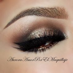 Metallic Copper #eye #makeup #eyes #eyeshadow #smokey #dark #dramatic