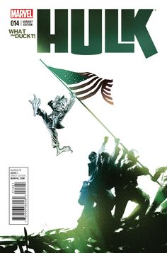 9.4 OR BETTER WHAT THE DUCK  VARIANT HULK #14