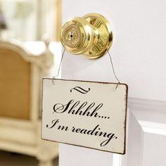 .Shhhh.. I am #reading