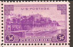 Puerto Rico... sello postal.