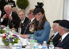 The Duke and Duchess of Cambridge commemorate D-Day in Normandy. June 6, 2014