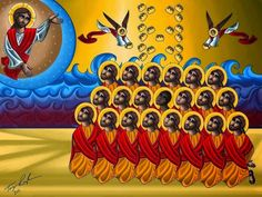 Ethiopian Martyrs | SAMS USA Holy Mary, Saint Etienne Du Rouvray, Persecuted Church, Gizeh, Religion, The Frankenstein, Orthodox Christianity, Orthodox Icons, Persecution