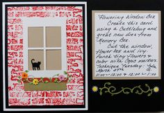 Julia will be teaching this Technique Tuesday class using Memory Box dies, at 11AM and 12Noon on 3/27. Call 619-667-5060 to sign up!