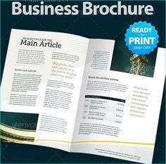 28 Revisable Premium Brochure Template Designs