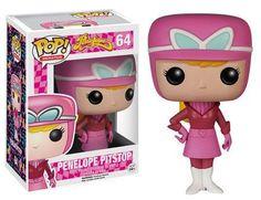 Penelope Pitstop Pop! Animation Funko NIB Wacky Races new in box 64 Hanna-Barbera
