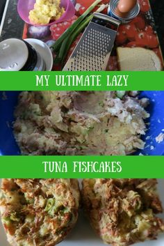 Ultimate lazy tuna fishcakes - Simple, delicious and cheap!