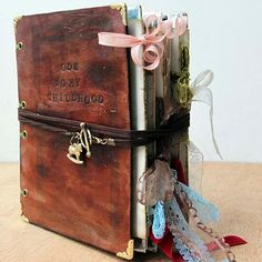You must see what all went into making this little book!