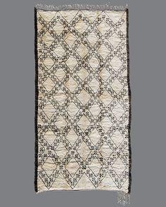 Yes.  Beni Ouarain . BO57 . Vintage Moroccan Carpets // Breuckelen Berber, via Bliss