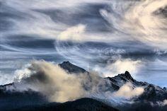 Pennellate di nubi sull'Orsiera #myValsusa #FdG 02-03-16 Foto di Maurizio Bresciani