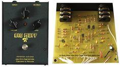 Electro-Harmonix Russian Big Muff Pi Pedal Mods