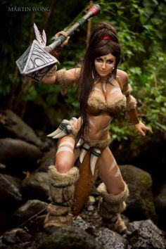 Nidalee from League of Legends by Jessica NigriPhoto by Martin Wong
