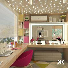 Modern-Genç-Odası-Çalışma-ve-Makyaj-Masası