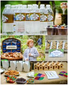 Forever Your Prints Blog: Camping Birthday Party and FREE DOWNLOAD!
