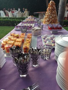 Al Baba Sweets Lavender themed reception  #display