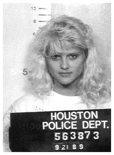 Anna Nicole Smith, former Playboy Playmate of the Year and widow of a rickety billionaire, was arrested on a drunk driving rap in Texas in 1989. After getting popped on the misdemeanor DUI charge, Smith posed for the above mug shot snapped by the Houston Police Department.