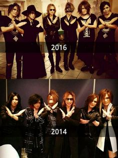 the GazettE and X Japan