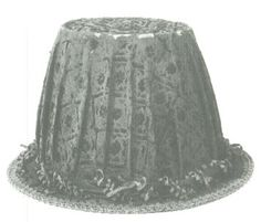 English, rare surviving Elizabethan man's leather hat covered in velvet with braid edging around its brim.