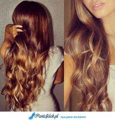 Brązowe włosy z lekkim blondem