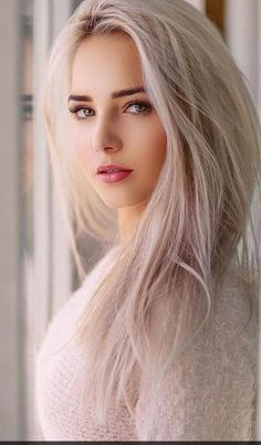 The beauty of woman, in all its forms. Most Beautiful Faces, Beautiful Eyes, Gorgeous Women, Beautiful Models, Blonde Beauty, Hair Beauty, Belle Silhouette, Beautiful Girl Photo, Cute Beauty