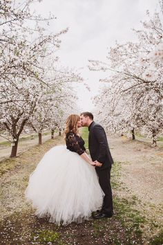 Almond Orchard Inspiration from Anna Delores Photography + Vanessa Noel Events Read more - Wedding Wishes, Wedding Bells, Dream Wedding, Wedding Day, Wedding Tips, Wedding Flowers, Love And Marriage, California Wedding, Wedding Engagement