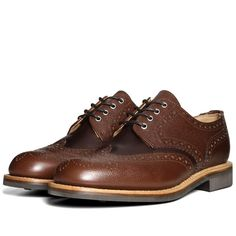 Oliver Spencer Brogue Shoe (Brown)