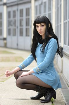 Female Spock Cosplay - I wish my female Spock costume was this good.