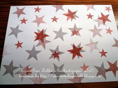 Paper handcrafted with Simply Stars