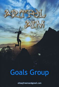 It's just after midnight and I'm still buzzing from the Artful Aim Goals Group training today.  Facilitated by me, this pilot group of wonderful creatives gather to grow themselves and their goals.  Thank you to all the members for your commitment and fun.   You guys totally rocked today!  This 6 month goals group is so successful, I've launched a second Artful Aim Goals Group beginning in September.  If your curious about this training for creatives just click like for more info. <3