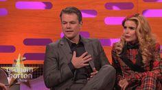 nice Matt Damon Controls the Red Chair - The Graham Norton Show