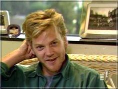 Sur le tournage du film Crazy Moon (1987) :