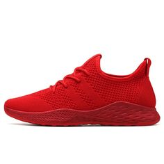 55a9da4ab Plus Size 48 Running Shoes for Men 2018 Outdoor Sports Shoes Brand Male  Mesh Sneakers Red