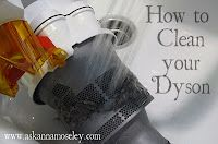 cleaning your dyson...