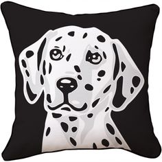 Naked Decor Dalmatian Pillow | Pure Home