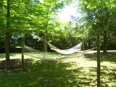 A little piece of heaven...on earth...at Parish Place Apartments!  A Hammock Park~  What a great amenity! Check them out at DarbyDevelopment.com Welcome Home, Heaven On Earth, Bedroom Apartment, Hammock, Apartments, Park, Places, Outdoor Decor, Check