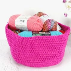 These crochet baskets are so easy to make. They use basic crochet stitches and…