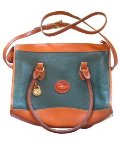 vintage dooney & burke bag (I found one like this  at thrift store for 4.99. It looks newer than this picture!)