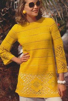 Crochet Bolero, Crochet Cardigan, Irish Crochet, Crochet Lace, Beginner Crochet, Crochet Tops, Free Crochet, Crochet Woman, Irish Lace