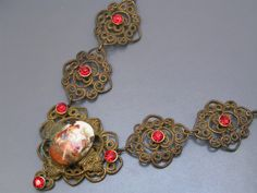 Hey, I found this really awesome Etsy listing at https://www.etsy.com/listing/177435857/vintage-czech-necklace-victorian-revival